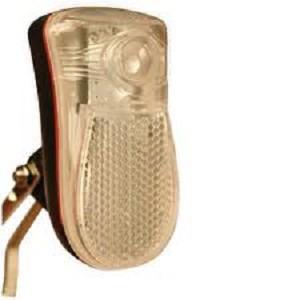 Koplamp met beugel boven wiel, klein model, op batterij