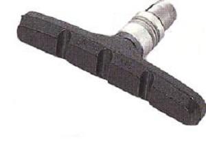 Remblok V-brake Tektro imbus in het midden